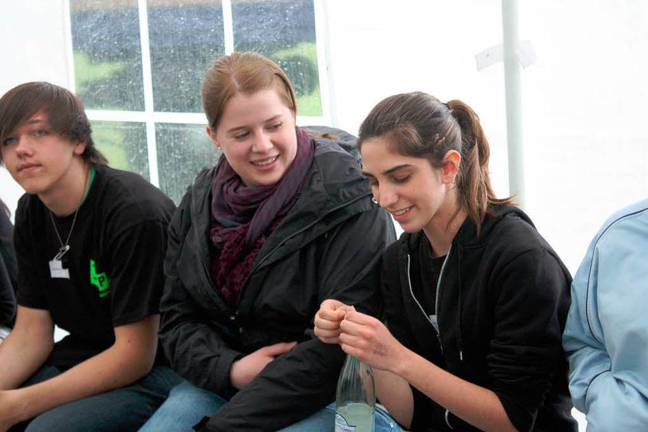 Das Jupa Rheinfelden feiert 60 Jahre Baden-Württemberg an diesem Wochenende mit Jugendlichen aus dem ganzen Land. (Foto: Hannah Klusmann)