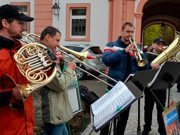 Das Brass-Quintett aus der Ukraine.