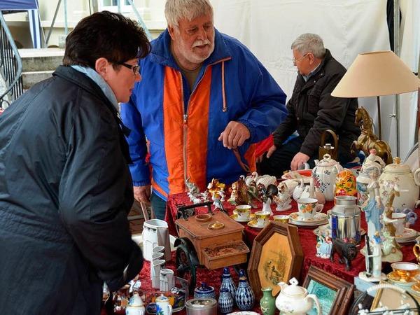 Tr�delmarkt beim St. Blasier Musikfr�hling.
