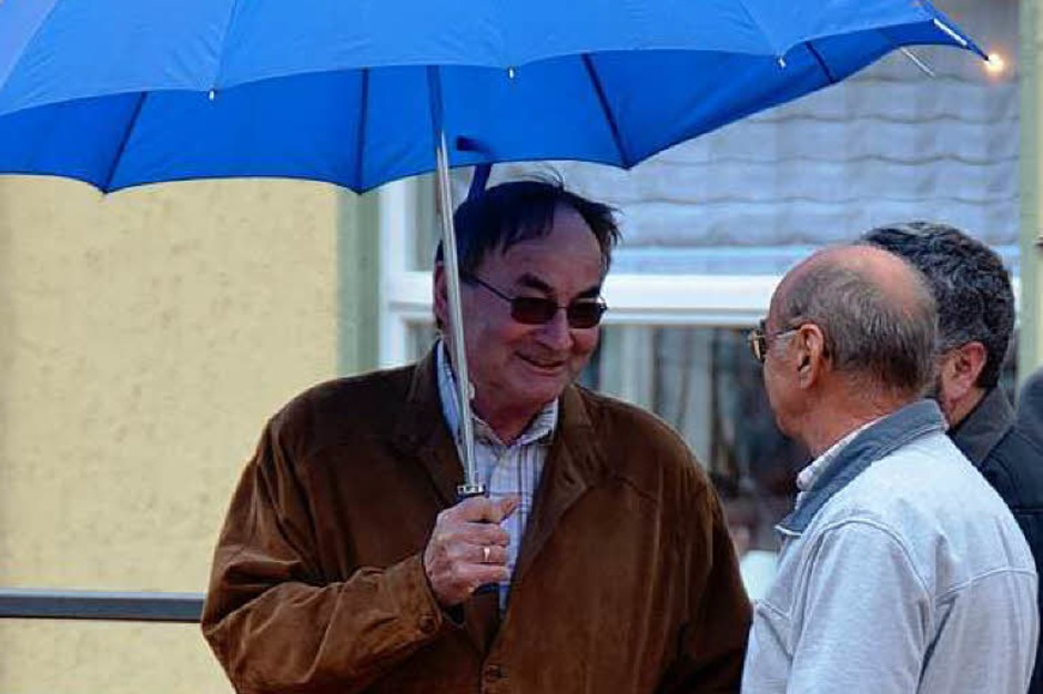 Der Regen war auch zu Gast. (Foto: Sebastian Barthmes)