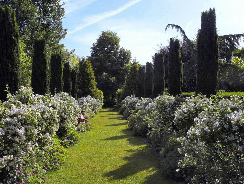 Üppig, prächtig, romantisch: die Gärten des Landhauses Ettenbühl  | Foto: PR