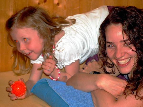 Mama-Wellness-Abend im Kindergarten