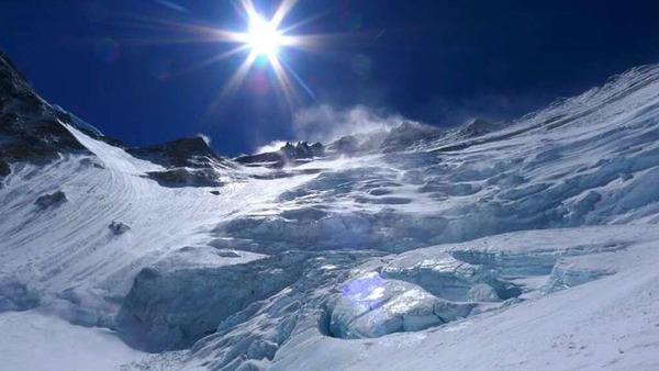 Blick auf die Lhotseflanke