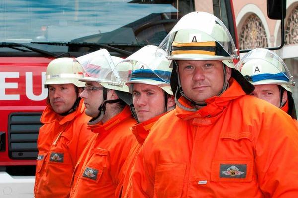 Die Leistungsübungen der Feuerwehren aus dem Ortenaukreis in Ettenheim.