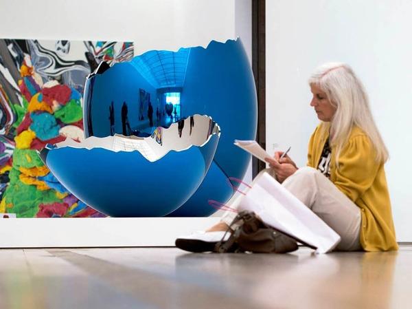 Mit seiner Kunst will Koons ein Massenpublikum erreichen.