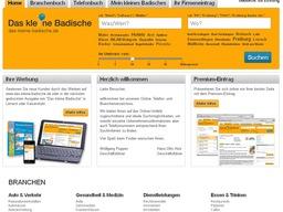 Ein Telefon- und Branchenbuch für die Region