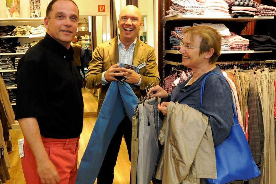 So viel Freude macht die Suche nach der passenden Hose (Foto: Markus Zimmermann)
