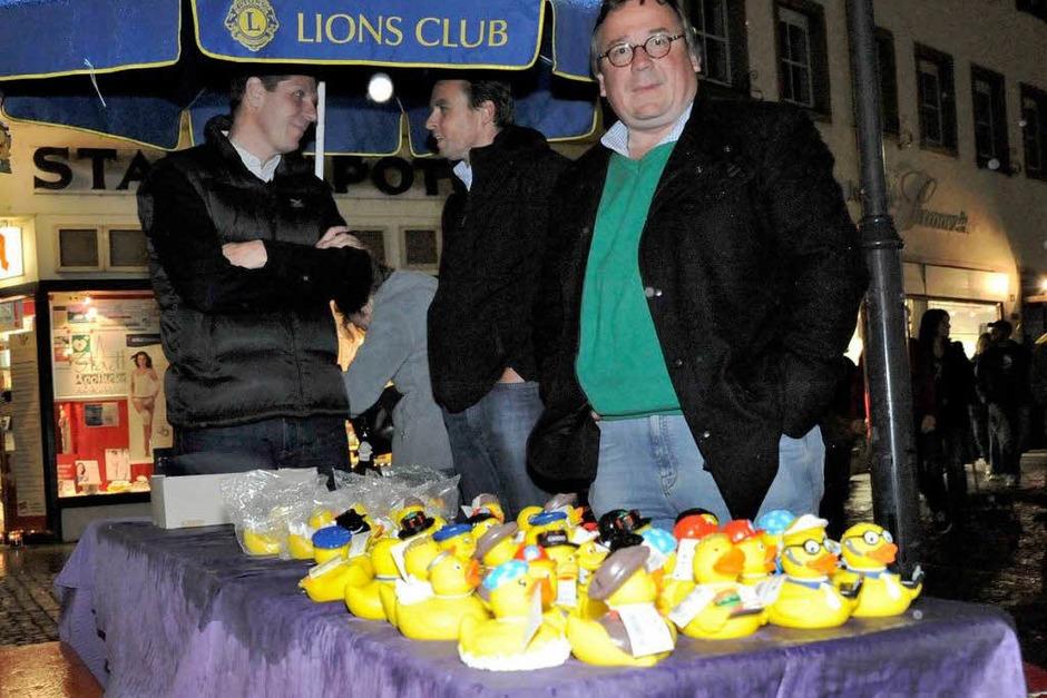Der Lions Club lockte mit Enten (Foto: Markus Zimmermann)