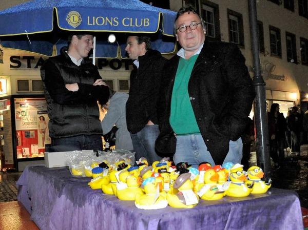 Der Lions Club lockte mit Enten