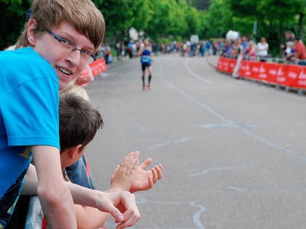 In der Stadt und auch in den Ortsteilen waren am Wochenende die Sportler los.