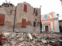 Nachbeben ersch�ttern weiter den Norden Italiens