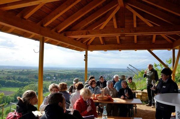 Impressionen von der Weinwanderung auf den Castellberg