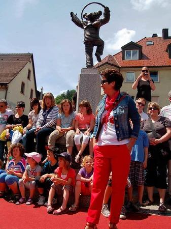 Au�er Handwerkskunst und Produkten aus der Region wurde den vielen Besuchern in Elzach ein gro�es Unterhaltungsprogramm geboten.