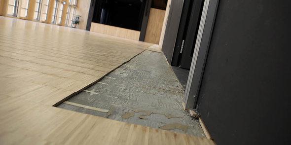 erhebliche wassersch den im neuen b rgerhaus lahr badische zeitung. Black Bedroom Furniture Sets. Home Design Ideas