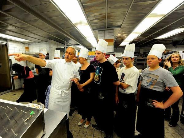 Das kochen in der colombi küche kochtagespraktikum im colombi hotel