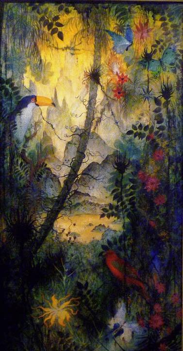 Neu in der Sammlung Hans von Geyer-zu-...e  Tropische Vision aus dem Jahr 1950.  | Foto: Privat