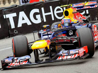 Mark Webber siegt in Monaco
