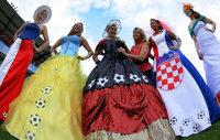 Fotos: Die Ball-Kleider zur EM