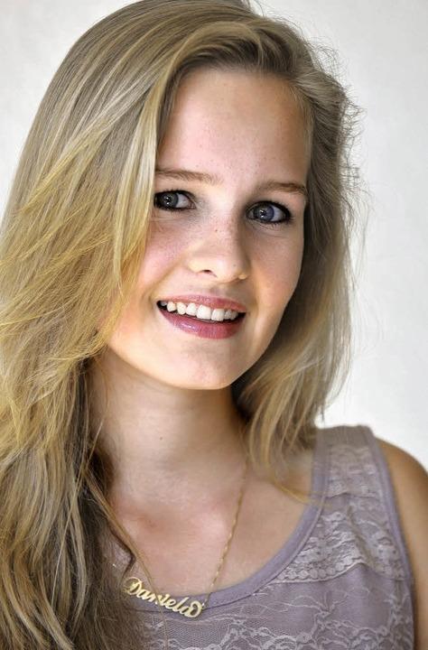 Zurzeit Daniela: Nele Guderian.  | Foto: bamberger
