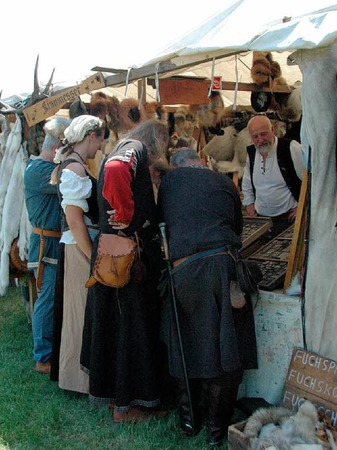 """Impressionen vom """"Mittelalterlich Phantasie Specataculum"""" im Dreiländergarten"""