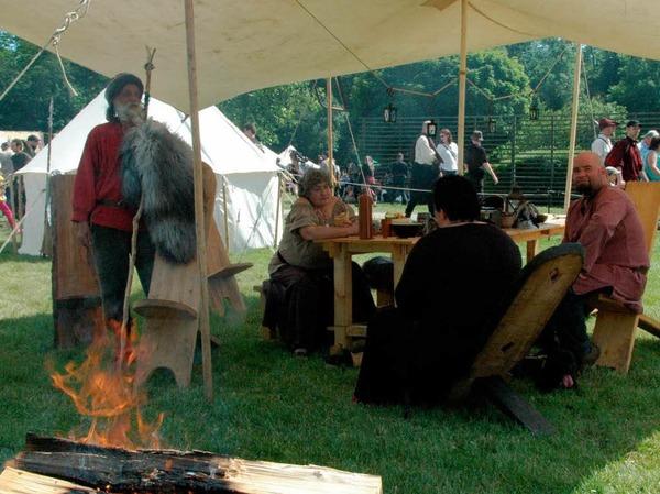 """Impressionen vom """"Mittelalterlich Phantasie Specataculum"""" im Dreil�ndergarten"""