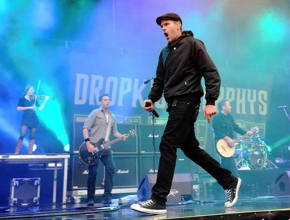 Al Barr, Frontmann der irisch-amerikanischen Folk-Punk-Band Dropkick Murphys