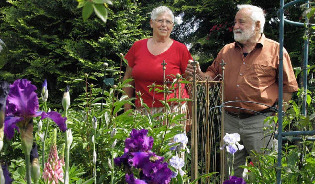 Wie im Paradies fühlt man sich beim Au...Garten von Rosemarie und Norbert Barth    Foto: Karin Stöckl-Steinebrunner