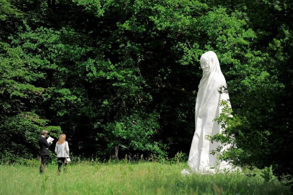 Skulptur &quot;Geist&quot; des thailndischen Knstlers  Apichatpong Weerasethakul.