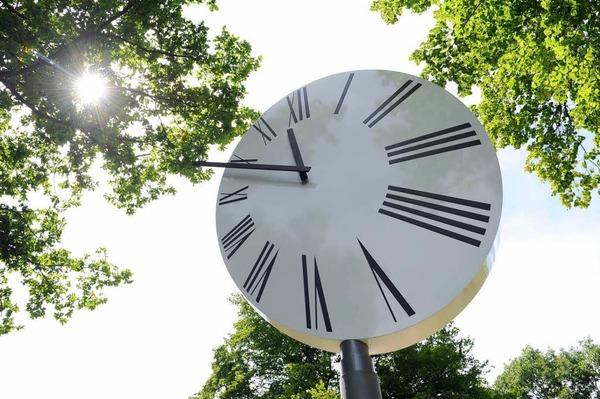 """Kunstinstallation """"A Clock"""" des albanischen K�nstlers  Anri Sala"""