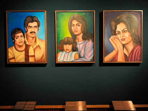 """Family Stories"""" heißt die Arbeit der in Deutschland lebenden afghanischen Künstlerin Jeanno Gaussi"""