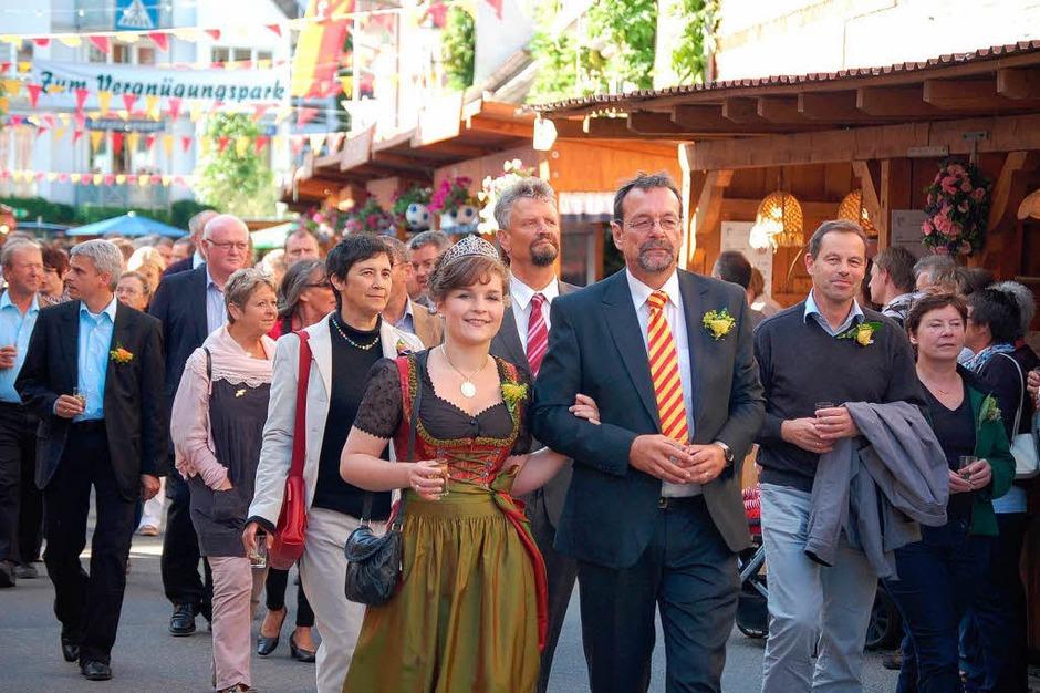 Impressionen von der Eröffnung der Ihringer Weintage (Foto: Kai Kricheldorff)