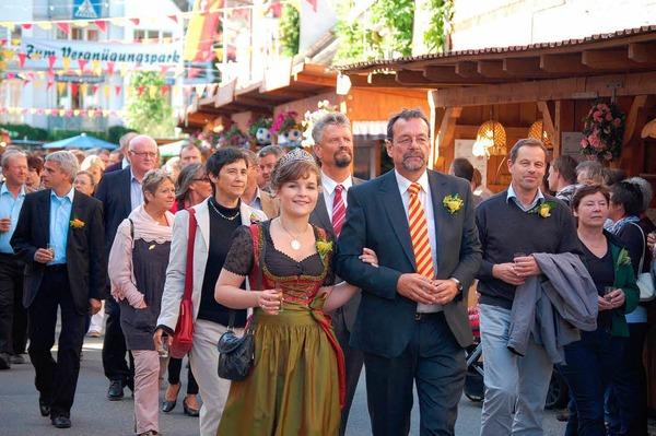 Impressionen von der Eröffnung der Ihringer Weintage