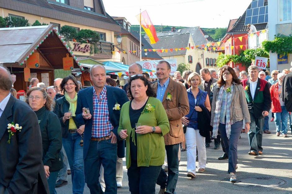 Impressionen von der Eröffnung der Ihringer Weintage (Foto: Gerold Zink)