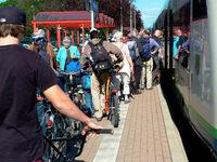 Breisgau-S-Bahn sonntags oft hoffnungslos überfüllt