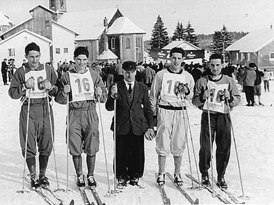 Schwarzwaldmeister im Staffellauf 1959...Z-FotoNurRepro>Hahne</BZ-FotoNurRepro>  | Foto: Repro Hahne