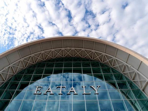 """Regionalen Lebensmitteln verpflichtet: die """"Eataly"""" in Rom."""