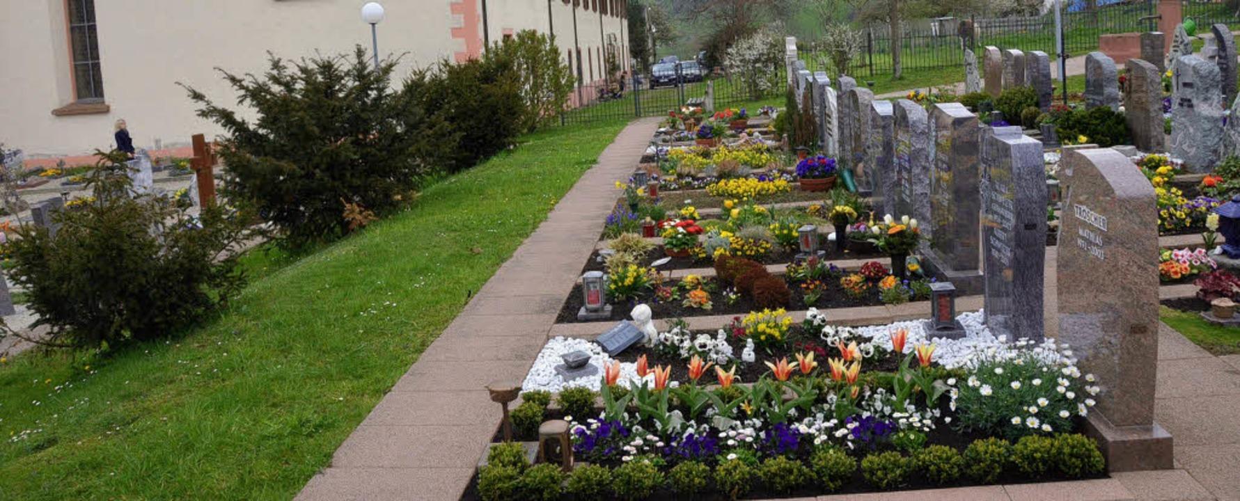 Der Friedhof in Oberried wird mit der ... ein neues Erscheinungsbild erhalten.     Foto: Markus Donner