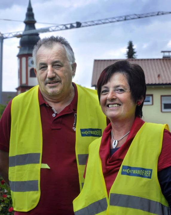 Überzeugt  unterwegs: Manfred Merkle und Marta Gerber.  | Foto: bamberger