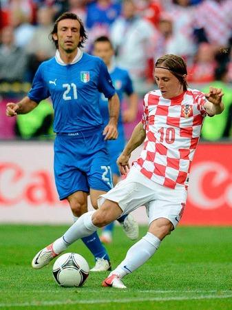 Kroatischer Spielgestalter: Luka Modric