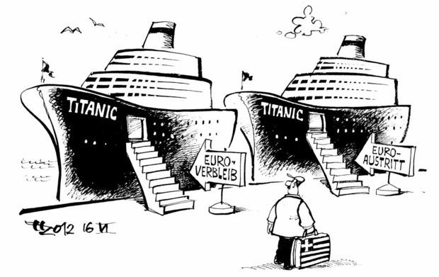 Die Wahl ZEICHNUNG: HAITZINGER