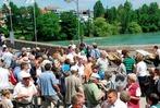Rheinfelden feiert 100 Jahre Rheinbrücke