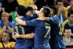Fotos: Frankreich besiegt die Ukraine bei der EM mit 2:0