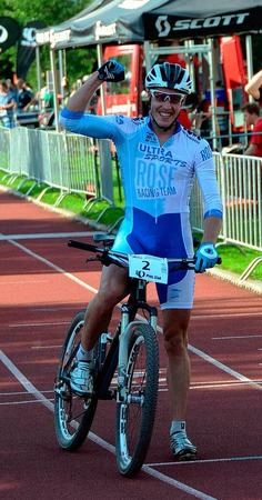 Bei den M�nnern holte Simon Gegenheimer (RSV Remchingen) den Titel.