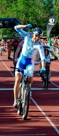 Bei den Männern holte Simon Gegenheimer (RSV Remchingen) den Titel.