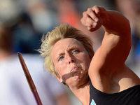 Obergf�ll ist deutsche Meisterin und beweist Medaillenform