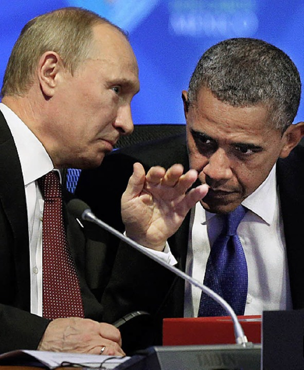 Putin (links) und Obama   | Foto: DAPD