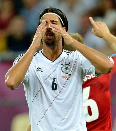 SCHÜSSE AM TOR VORBEI: 5, Sami Khedira (Deutschland); bislang erzielte der Stuttgarter kein Tor, leistete aber einen Assist.