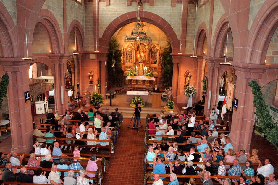 Die Pfarrkirche bildet am Samstag den Rahmen für den Festakt zur 1250-Jahr-Feier. (Foto: Michael Haberer)