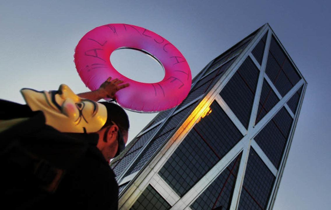 Einen Rettungsring für Spaniens Banken... ein Rettungsring für die Konjunktur?     Foto: dpa