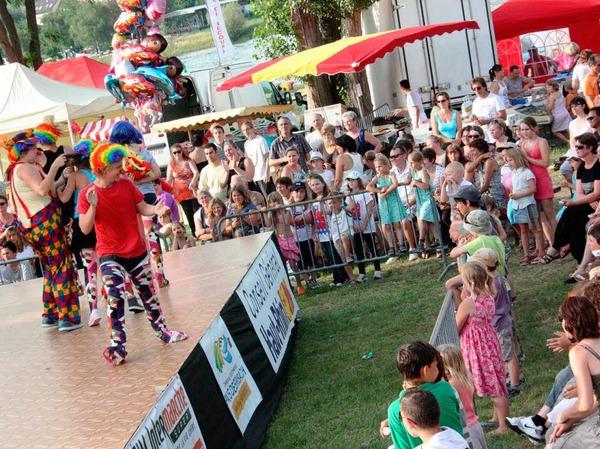 """Viele Besucher kamen am Samstagabend zum Festival """"Circadanse""""."""